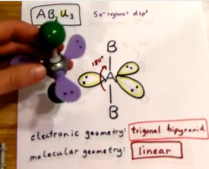 VSEPR Theory Part III | Janet Gray CoonceXef2 Hybridization Bond Angle