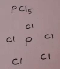 Lewis Phosphorous pentachloride