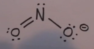 how to draw lewis structure of sodium nitrite